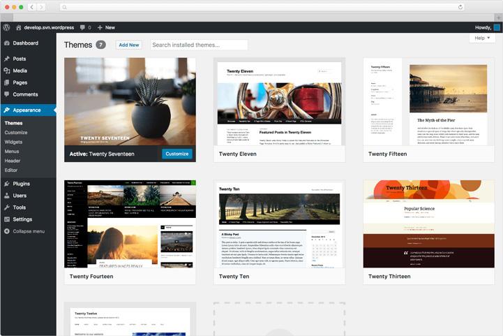 wordpress website responsive